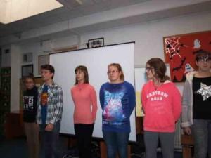 Učenice su recitacijom obogatile  doživljaj prezentacije