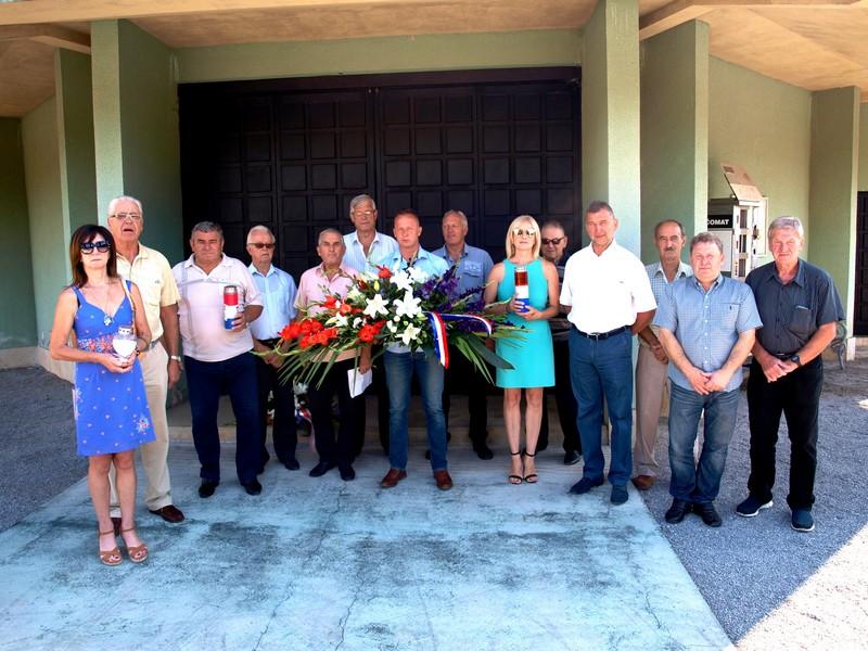 Delegacije Udruge veterana Domovinskog rata, Općine Matulji i UABA Liburnije