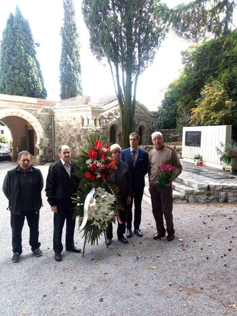 Na groblju  Lovran