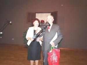 Marjuči Lenžer i Vinko Surina